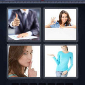 4 Pics 1 Word Answers Gesture