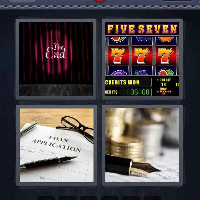 4 Pics 1 Word Answers
