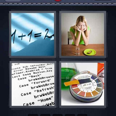 4 Pics 1 Word 5 Letters
