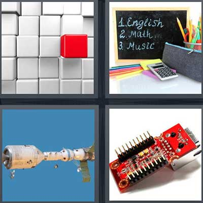 Level 452 - 4 Pics 1 Word Answers