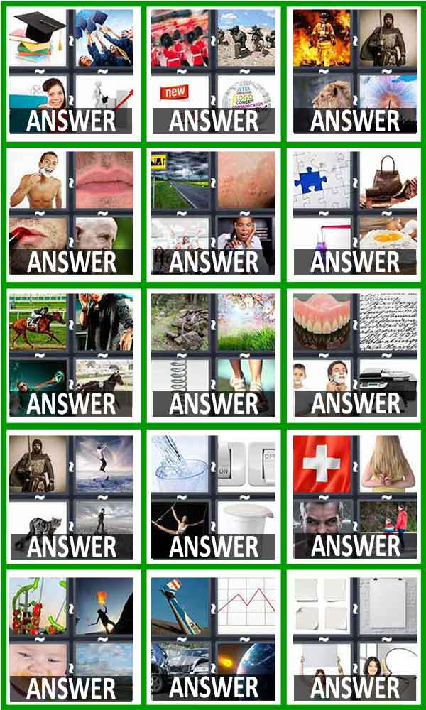 pics 1 word answers level 406-420
