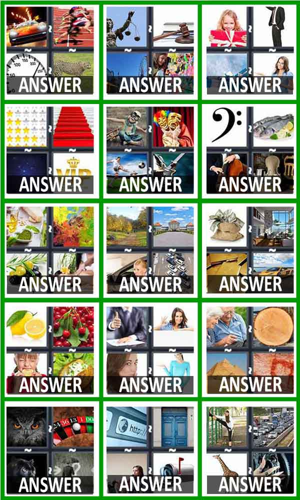 pics 1 word answers level 46-60