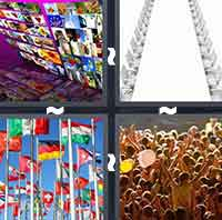 four pictures one word 6 letters 4 pics 1 word levels 76 90 answers 4 pics 1 word answers 1244