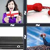 4pics1word answers cheats level ReceiverThe answer is: Receiver