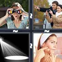 4pics1word answers cheats level SpotThe answer is: Spot