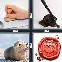 4pics1word answers cheats level SealThe answer is: Seal