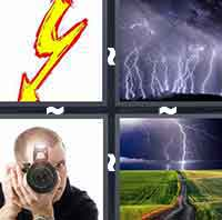 4pics1word answers cheats level FlashThe answer is: Flash