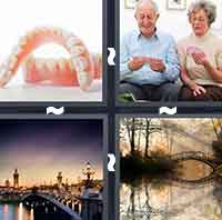 4pics1word answers cheats level BridgeThe answer is: Bridge