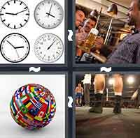 4pics1word 6 letters clock 4 pics 1 word levels 421 435 answers 4 pics 1 word answers 19085 | 4pics1word 0423