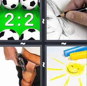 advertisements 4 pics 1 word level 162