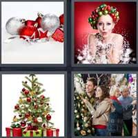 Christmas decorations 4 pics 1 word indiepedia 4 pics 1 word 7 letters christmas decorations psoriasisguru com expocarfo