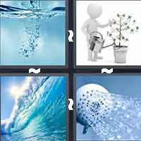 4 Pics 1 Word level 1-2 5 Letters