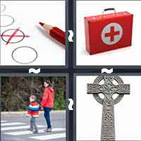 4 Pics 1 Word level 1-3 5 Letters