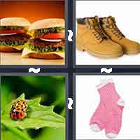 4 Pics 1 Word level 1-3 4 Letters