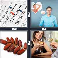 4 Pics 1 Word level 1-5 4 Letters