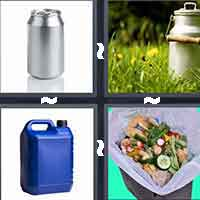 4 Pics 1 Word level 1-2 3 Letters