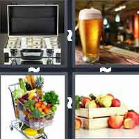 4 Pics 1 Word level 1-6 4 Letters
