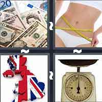 4 Pics 1 Word level 1-5 5 Letters