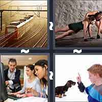 4 Pics 1 Word level 1-6 5 Letters