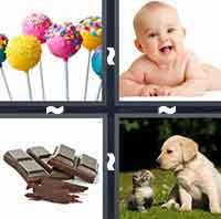 4 Pics 1 Word level 1-7 5 Letters