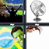 4 Pics 1 Word level 1-3 3 Letters