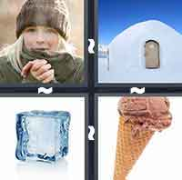 4 Pics 1 Word level 1-12 4 Letters