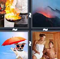 4 Pics 1 Word level 1-4 3 Letters