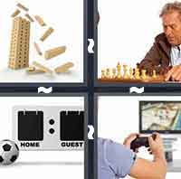 4 Pics 1 Word level 1-13 4 Letters