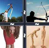 4 Pics 1 Word level 1-5 3 Letters
