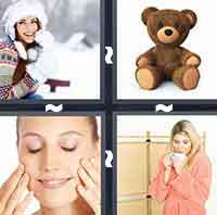 4 Pics 1 Word level 2-1 4 Letters