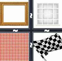 4 Pics 1 Word level 1-3 6 Letters