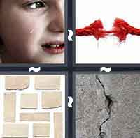 4 Pics 1 Word level 2-6 4 Letters