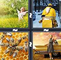 4 Pics 1 Word level 1-4 6 Letters