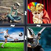 4 Pics 1 Word level 2-10 4 Letters