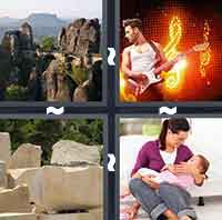 4 Pics 1 Word level 3-1 4 Letters