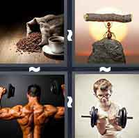 4 Pics 1 Word level 1-5 6 Letters