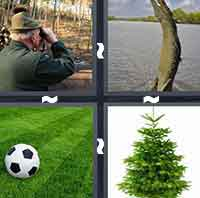 4 Pics 1 Word level 2-1 5 Letters
