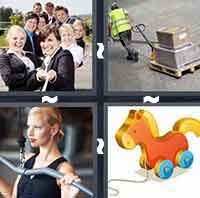 4 Pics 1 Word level 3-5 4 Letters
