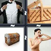 4 Pics 1 Word level 2-3 5 Letters