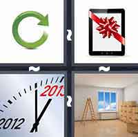 4 Pics 1 Word level 1-13 3 Letters