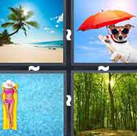 4 Pics 1 Word level 1-8 6 Letters