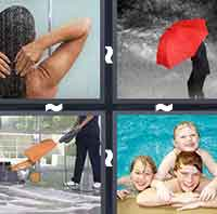 4 Pics 1 Word level 2-1 3 Letters