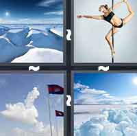 4 Pics 1 Word level 3-7 4 Letters