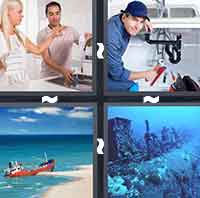 4 Pics 1 Word level 3-8 4 Letters
