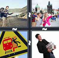 4 Pics 1 Word level 3-10 4 Letters