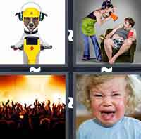 4 Pics 1 Word level 95