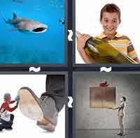 4 Pics 1 Word level 2-2 3 Letters