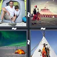 4 Pics 1 Word level 4-1 4 Letters
