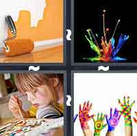 4 Pics 1 Word level 2-6 3 Letters