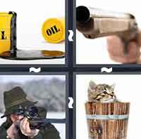 4 Pics 1 Word level 1-11 6 Letters